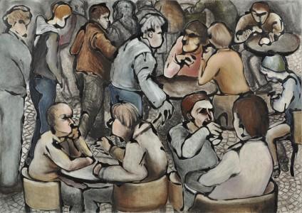 Café Crow de Hilary Senhali