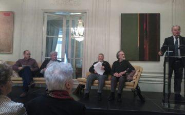 Presentación de VIAJE A LA ESPAÑA DE FRANCO en la Embajada sueca