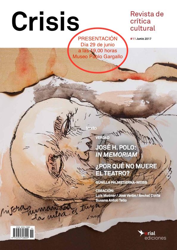 29 de junio: CRISIS#11 en Zaragoza