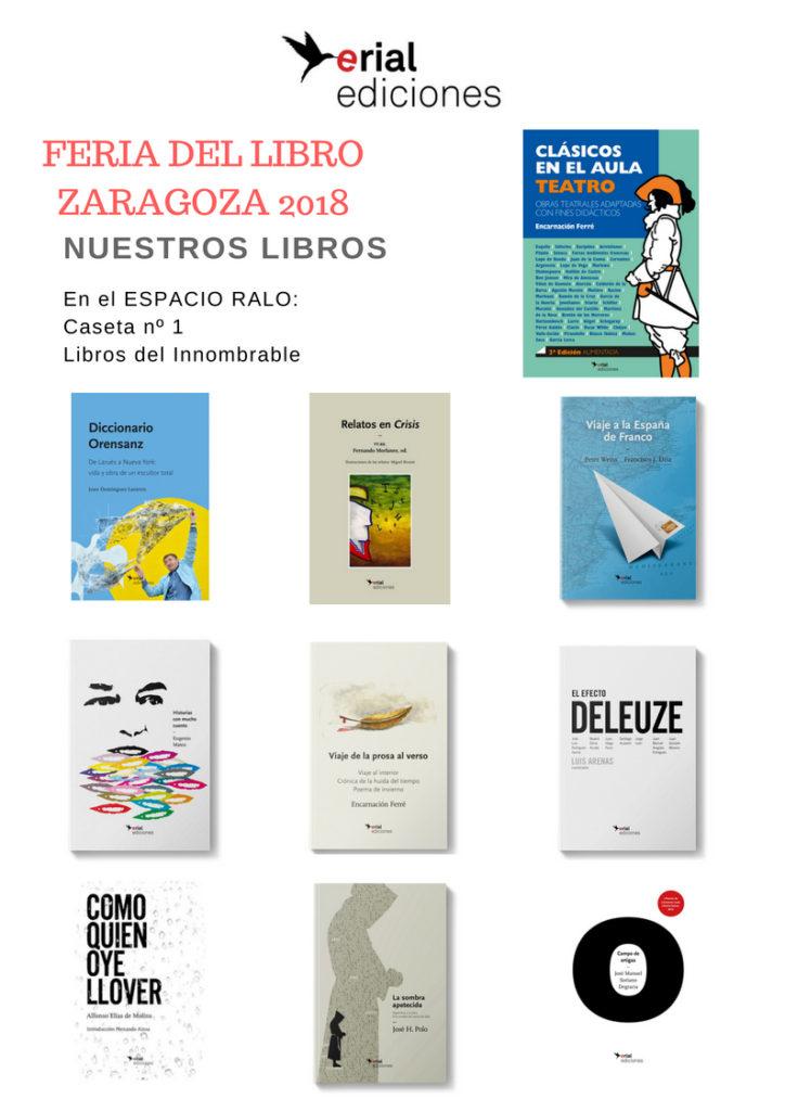FERIAL DEL LIBRO Zaragoza 2018