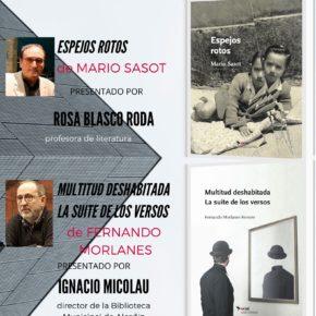 PRESENTACIÓN EN LA BIBLIOTECA DE ALCAÑIZ