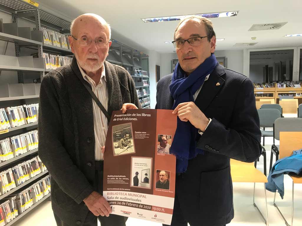 Artur Quintana con Mario Sasot (Carles Terés)