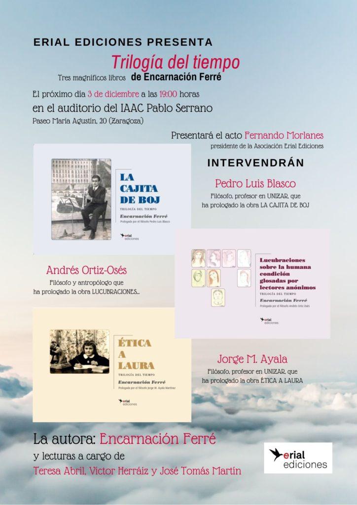 Presentación de TRILOGÍA DEL TIEMPO