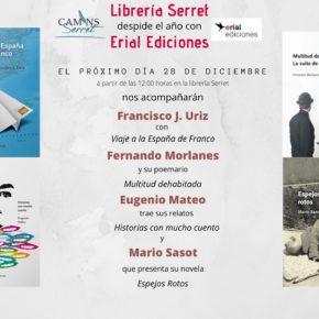 Erial Ediciones quiere despedirse de la librería Serret