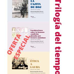 TRILOGÍA DEL TIEMPO ya está a tu disposición en nuestra tienda online