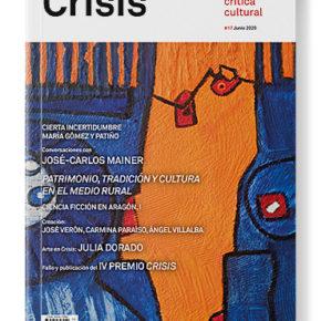 PRESENTACIÓN DE CRISIS#17 Y MESA REDONDA: PATRIMONIO, TRADICIONES Y CULTURA EN EL MEDIO RURAL